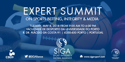 """SIGA EXPERT SUMMIT on """"Sports Betting, Integrity and Media"""""""
