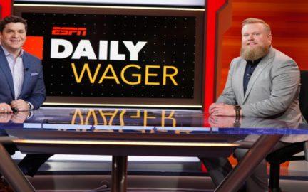 Daily Wager vai para o ESPN2 e aparecerá no Sunday Show para a Temporada da NFL