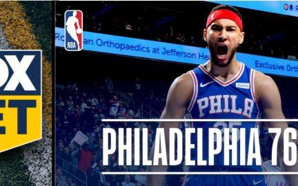 FOX Bet fecha acordo com o Philadelphia 76ers