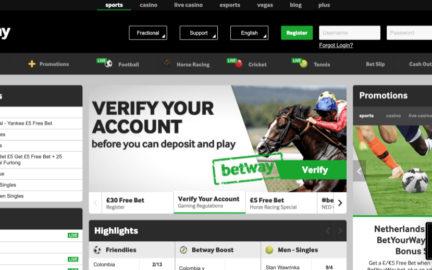 Betway retira mercado sobre transferências de jogadores